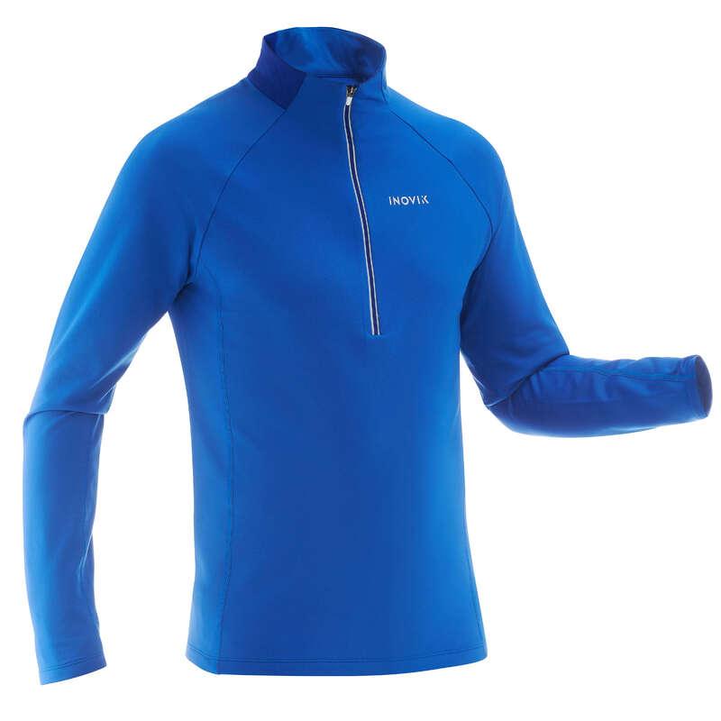 ODZIEŻ DO NARCIARSTWA BIEGOWEGO DOROŚLI Narciarstwo biegowe - Koszulka warm XC S 100 męska INOVIK - Narciarstwo biegowe