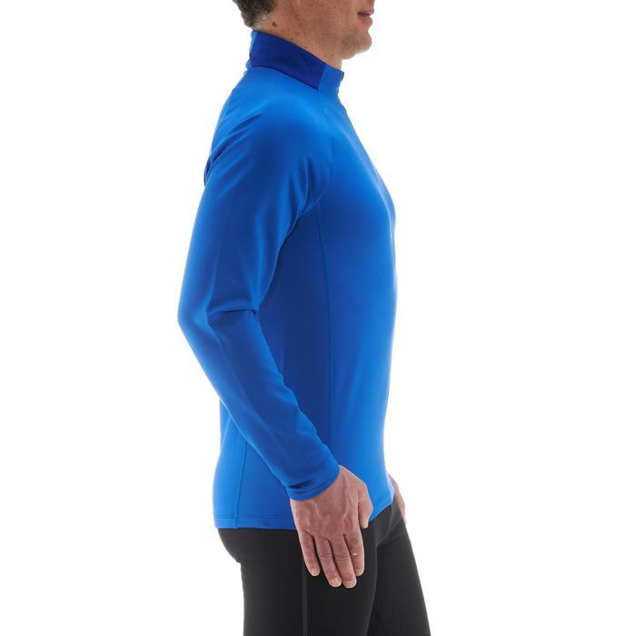Camiseta cálida de esquí de fondo hombre XC S T-S 100 azul