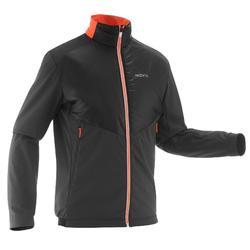 Chaqueta cálida de esquí de fondo hombre XC S JKT 550 negro