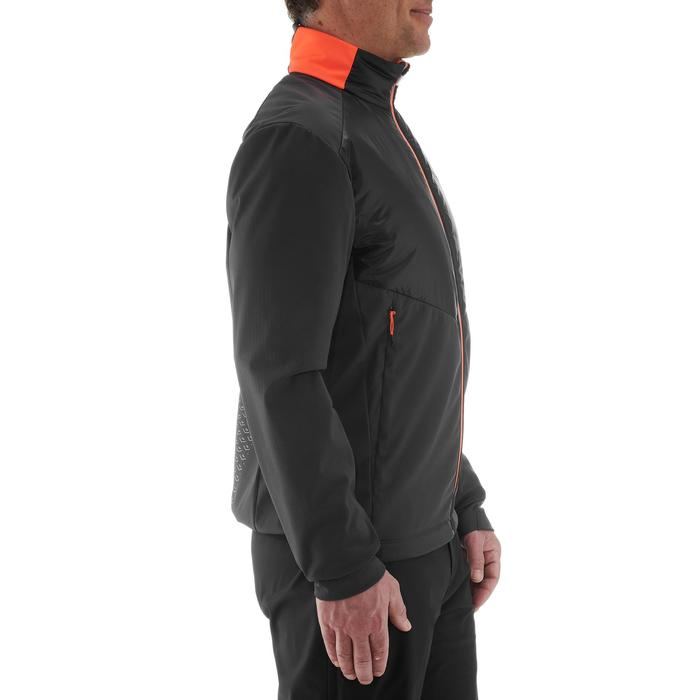 Veste chaude de ski de fond homme XC S JKT 550 noir