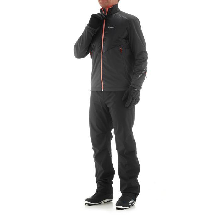 Langlaufjacke XC S 550 Warm Herren schwarz