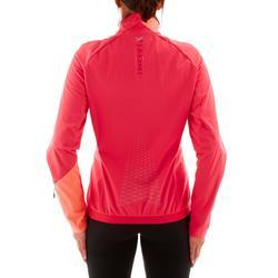 Warme langlaufjas voor dames XS S JKT 550 roze