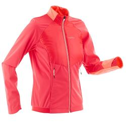 Langlaufjacke warm XC S 550 Damen rosa