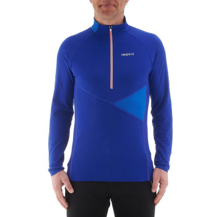 Tee-shirt léger de ski de fond homme XC S T-S 500 bleu