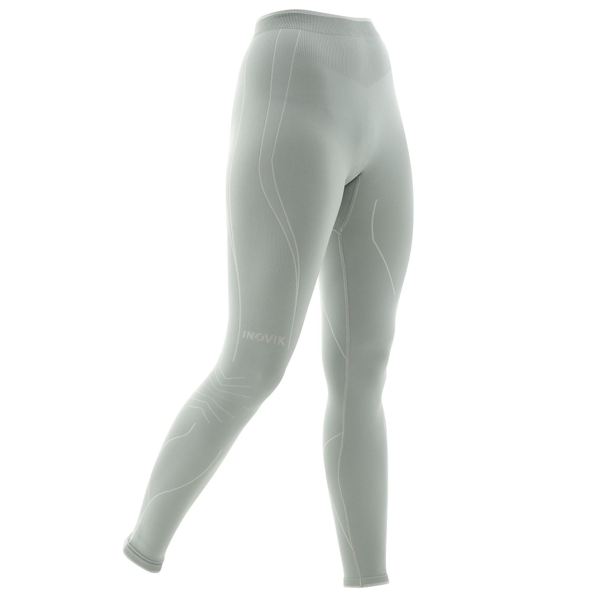 Lange Skiunterhose XC S 550 Damen grau | Sportbekleidung > Funktionswäsche > Thermounterwäsche | Grau | Inovik