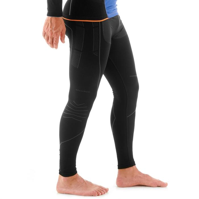 Bas de sous-vêtement technique ski de fond homme XC S UW BOTTOM 550 gris