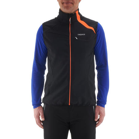 500 Men's Cross-Country Skiing Vest - Black