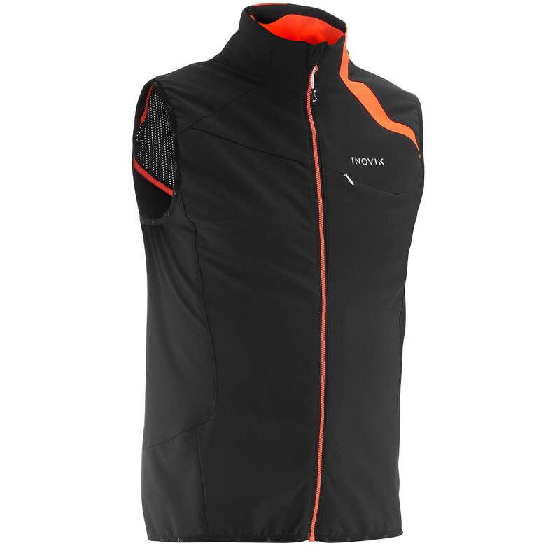 ADULT CROSS COUNTRY CLOTHING - 500 Men's XC S Gilet - Black INOVIK