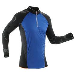 Camiseta técnica de esquí de fondo hombre XC S UW550 negro