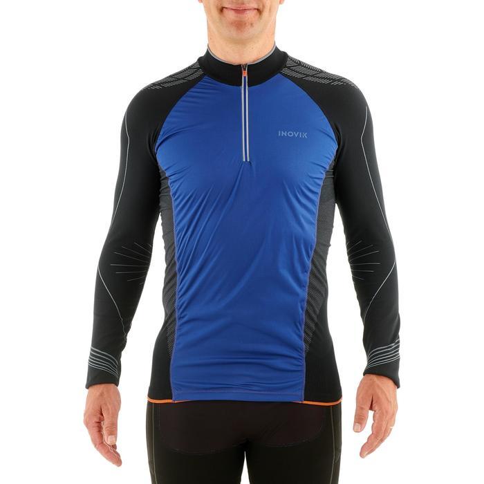 Tee-shirt technique de ski de fond homme XC S UW550 noir