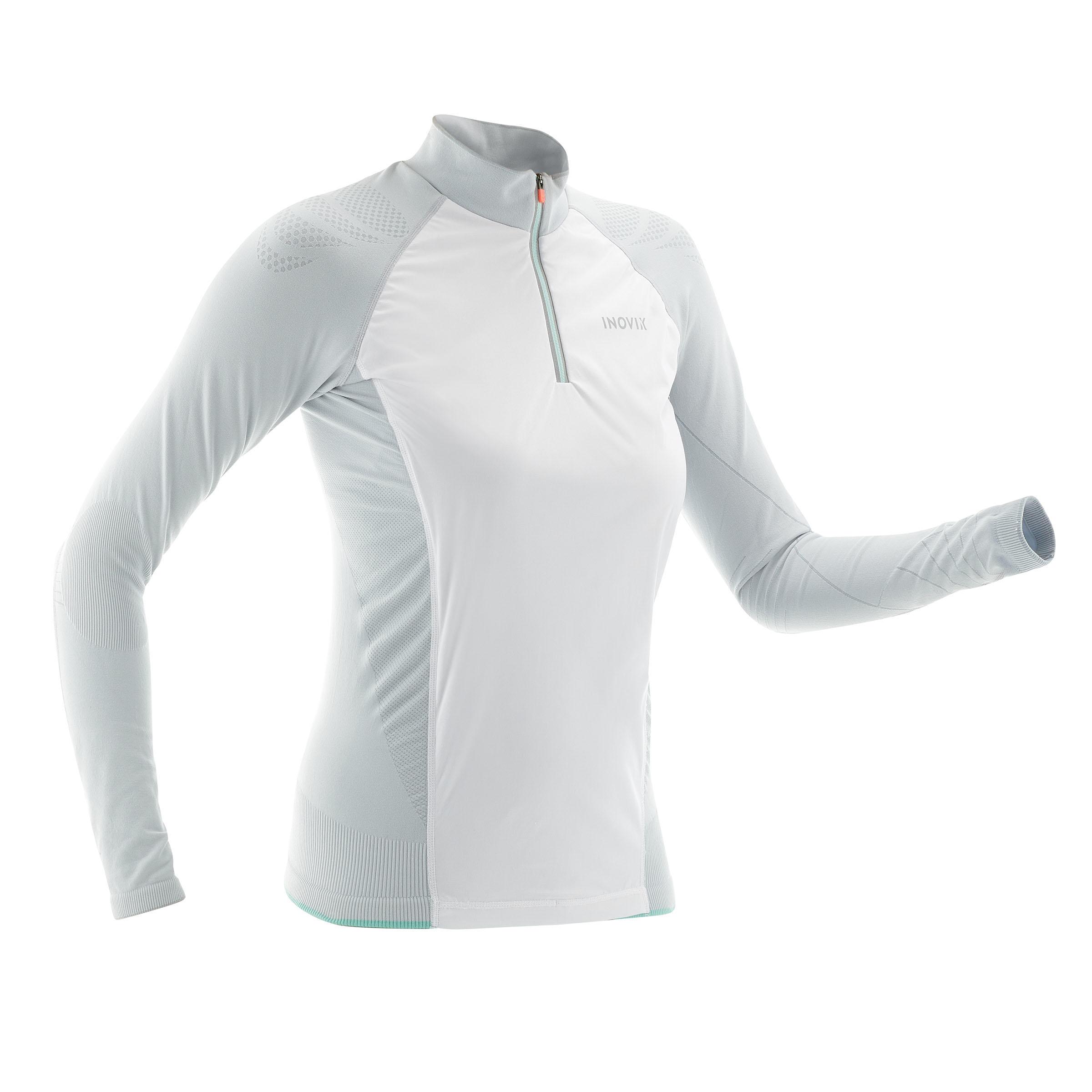 Inovik Technisch langlauf T-shirt voor dames SC S 550 grijs