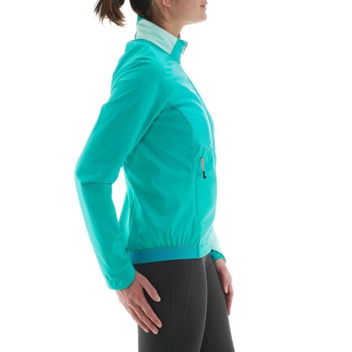 Veste chaude de ski de fond femme XC S JKT 550 bleu