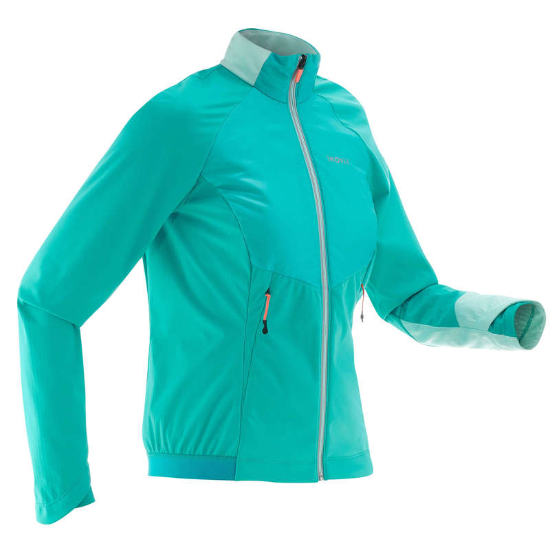 ADULT CROSS COUNTRY CLOTHING Cross-Country Skiing - XC S WARM 550 WOMEN'S JKT-Blue INOVIK - Cross-Country Skiing