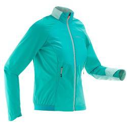 Chaqueta cálida de esquí de fondo mujer XC S JKT 550 azul