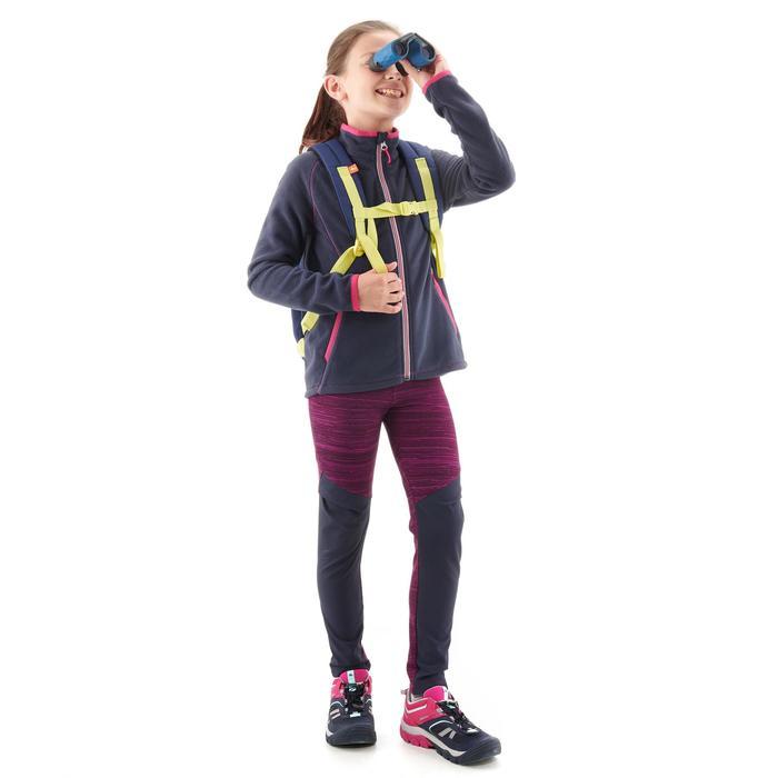 Fleecevest MH150 marineblauw voor kinderen van 7-15 jaar