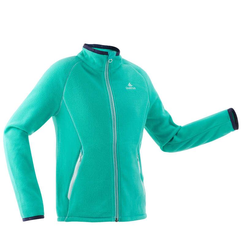 FLEECE PADDED & SOFTHELL JKT GIRL 7-15 Y Hiking - Girls' Fleece MH150 - TQS QUECHUA - Hiking Clothes