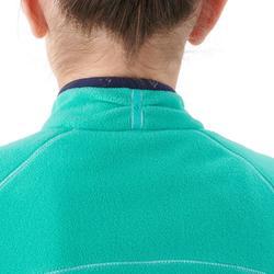 Fleece wandelvest voor kinderen MH150 turquoise 7-15 jaar
