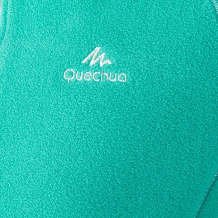 Fleece wandelvest voor kinderen MH150 turquoise