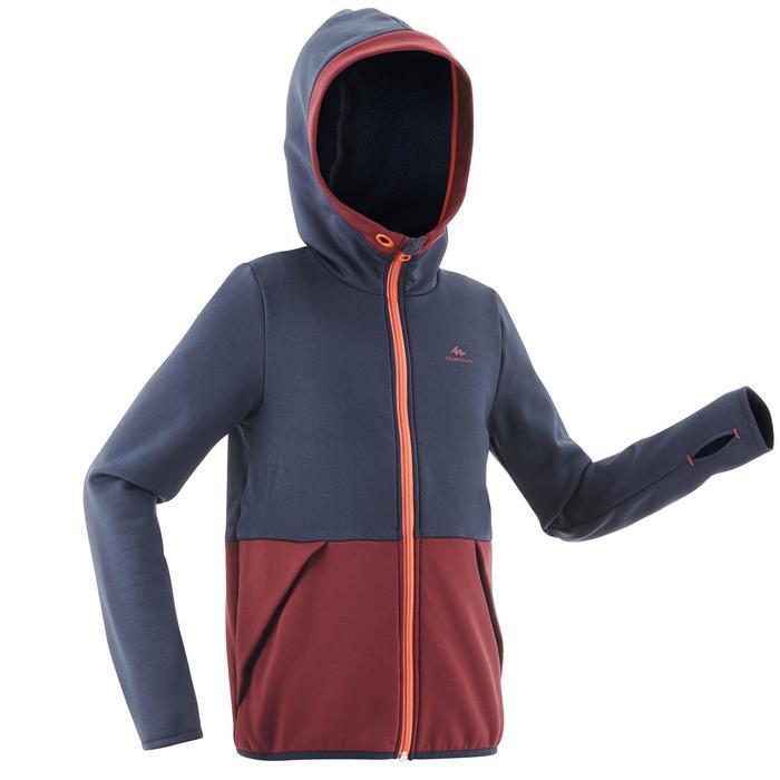Fleece wandeltrui voor kinderen MH500