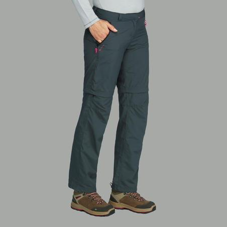Trek 100 Trekking Convertible Pants - Women