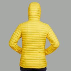 Doudoune trekking montagne TREK500 jaune