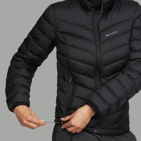 Manteau de randonnée en duvet Trek500 – Femmes