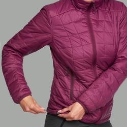 Wattierte Jacke Trek 100 Damen violett