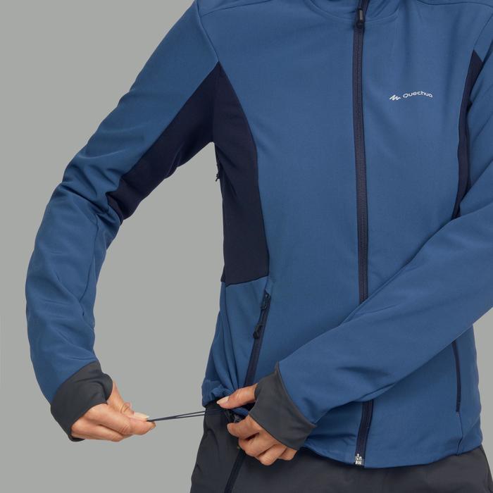 Softshelljacke Trek 900 WindWarm Damen blau