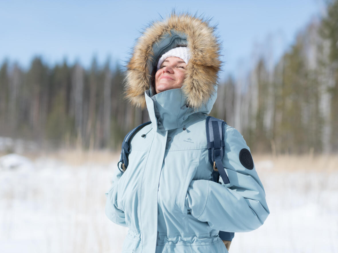 Snow hiking jacket - Fleece hand warmer pockets