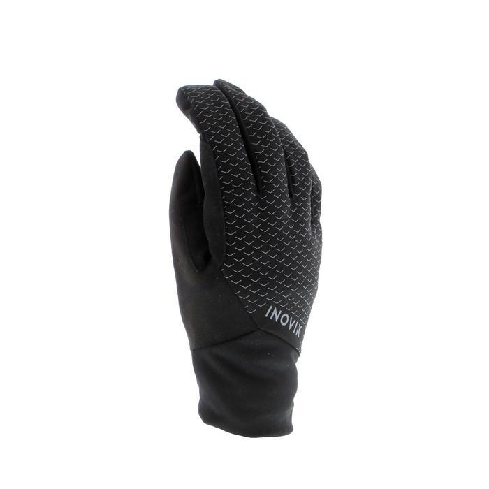 Langlaufhandschuhe XC S 100 warm Kinder schwarz