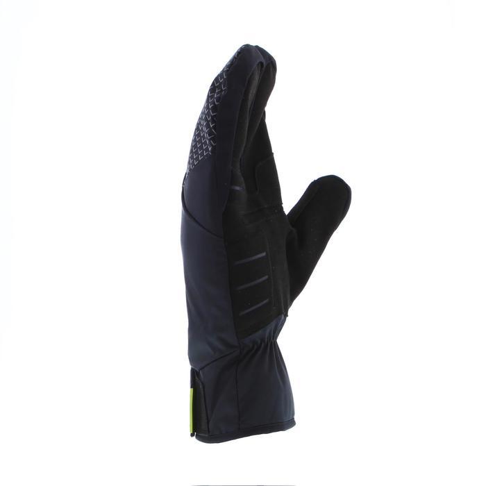 Guantes de esquí de fondo negro cálido X-WARM 550 júnior