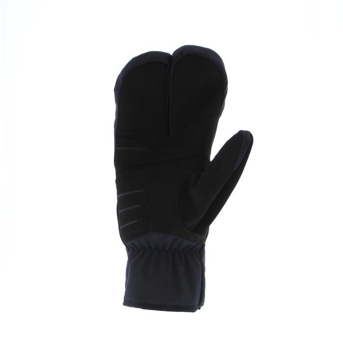 Langlaufhandschoenen voor kinderen X-WARM 550 zwart