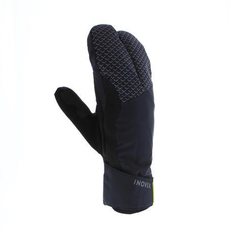 Gants de ski de fond noir chaud X-WARM 550 enfant