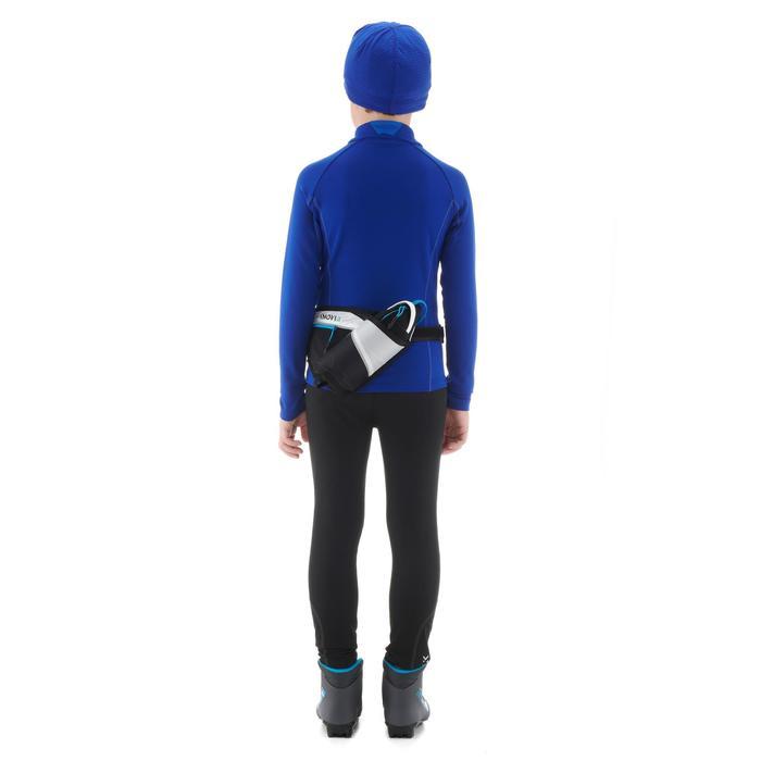 Ceinture porte bidon bleu XS S BELT 100 ENFANT