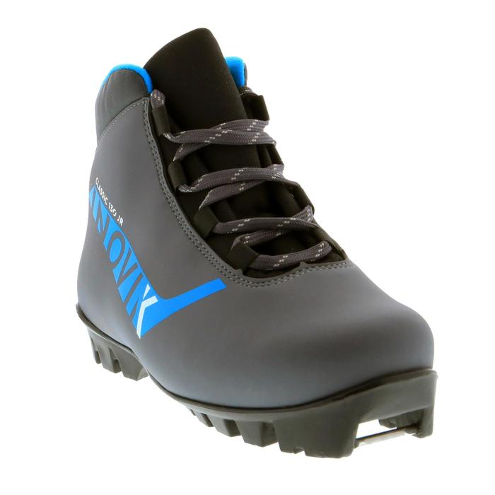 Chaussures de ski de fond classique junior XC S BOOTS 130 gris