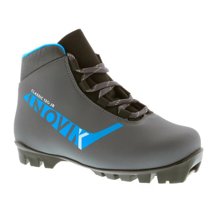 Chaussure ski de fond classique junior XC S BOOTS 130 gris