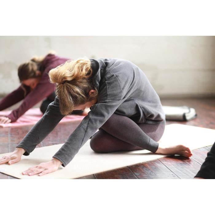 Sweat-shirt relaxation yoga micropolaire femme - 1507114