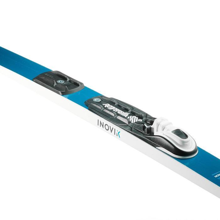 Ski de fond classique à peaux XC S SKI 130 ENFANT + fixation Rottefella