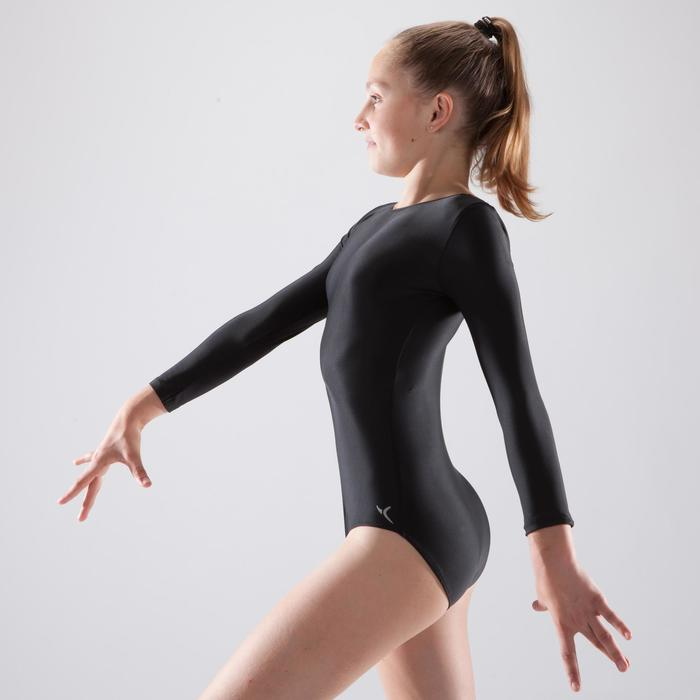 Justaucorps gymnastique féminine manche longues - 1507190