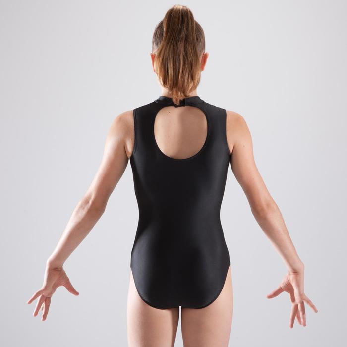 Justaucorps gymnastique féminine sans manches