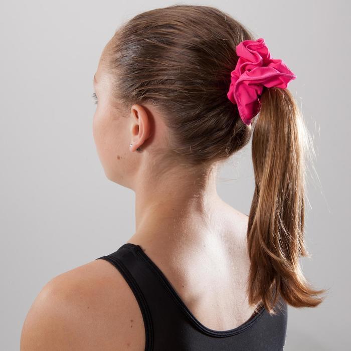 Scrunchie voor dames en meisjes, voor toestelturnen, effen roze