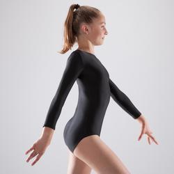 Justaucorps gymnastique féminine manche longues
