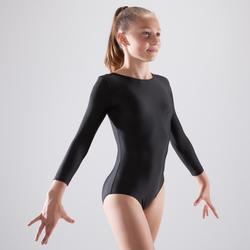 Maillot gimnasia femenina mangas largas