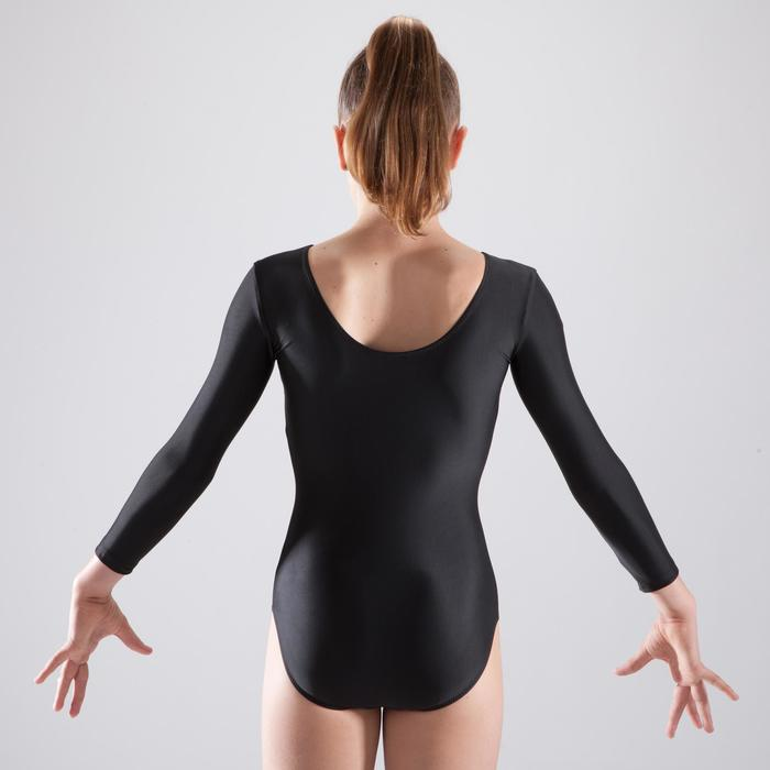 Justaucorps gymnastique féminine manche longues - 1507219