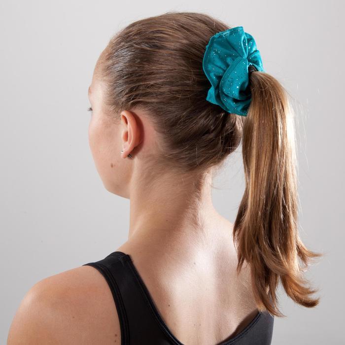Haarband Kunstturnen Pailletten BLU