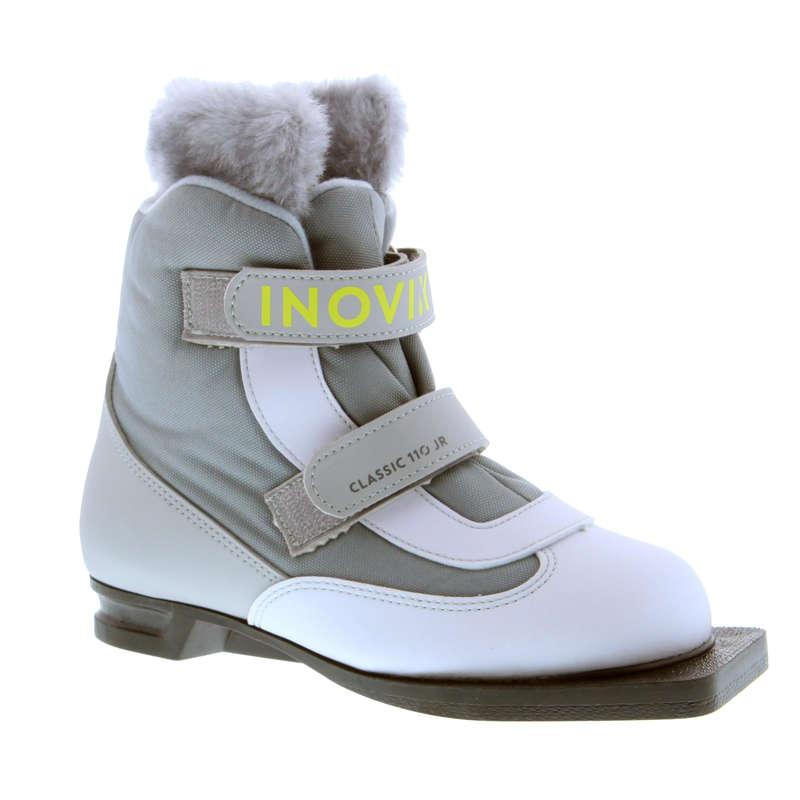 ДЕТСКИЕ БЕГОВЫЕ ЛЫЖИ Беговые лыжи - Ботинки Xc s 110 дет.  INOVIK - Беговые лыжи