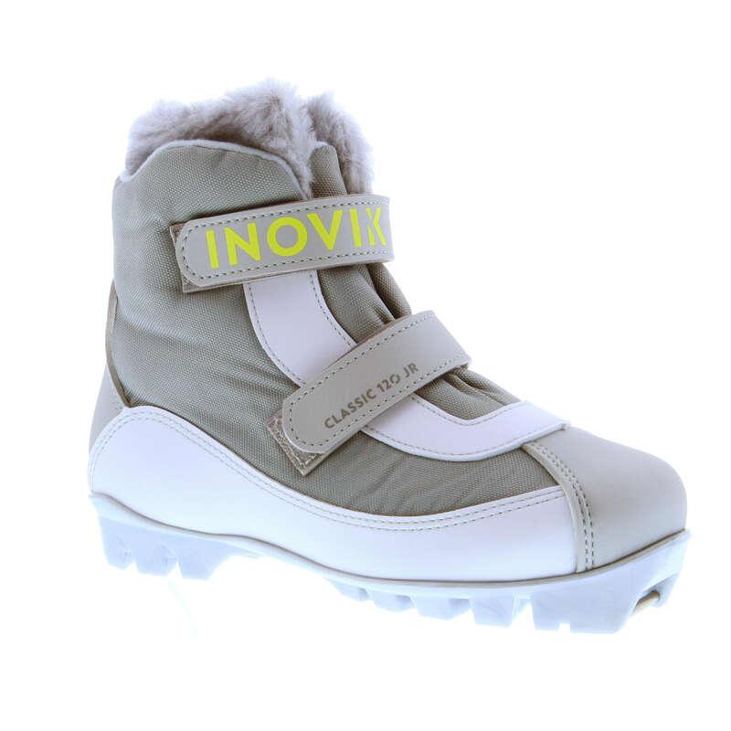 ДЕТСКИЕ БЕГОВЫЕ ЛЫЖИ Обувь - Ботинки Xc s 120 дет.  INOVIK - Обувь