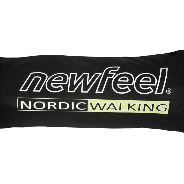 Sac bâton marche nordique NW BCLUB noir