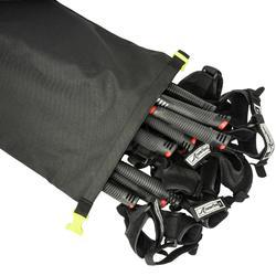 Tas voor nordic walking stokken NW BClub zwart
