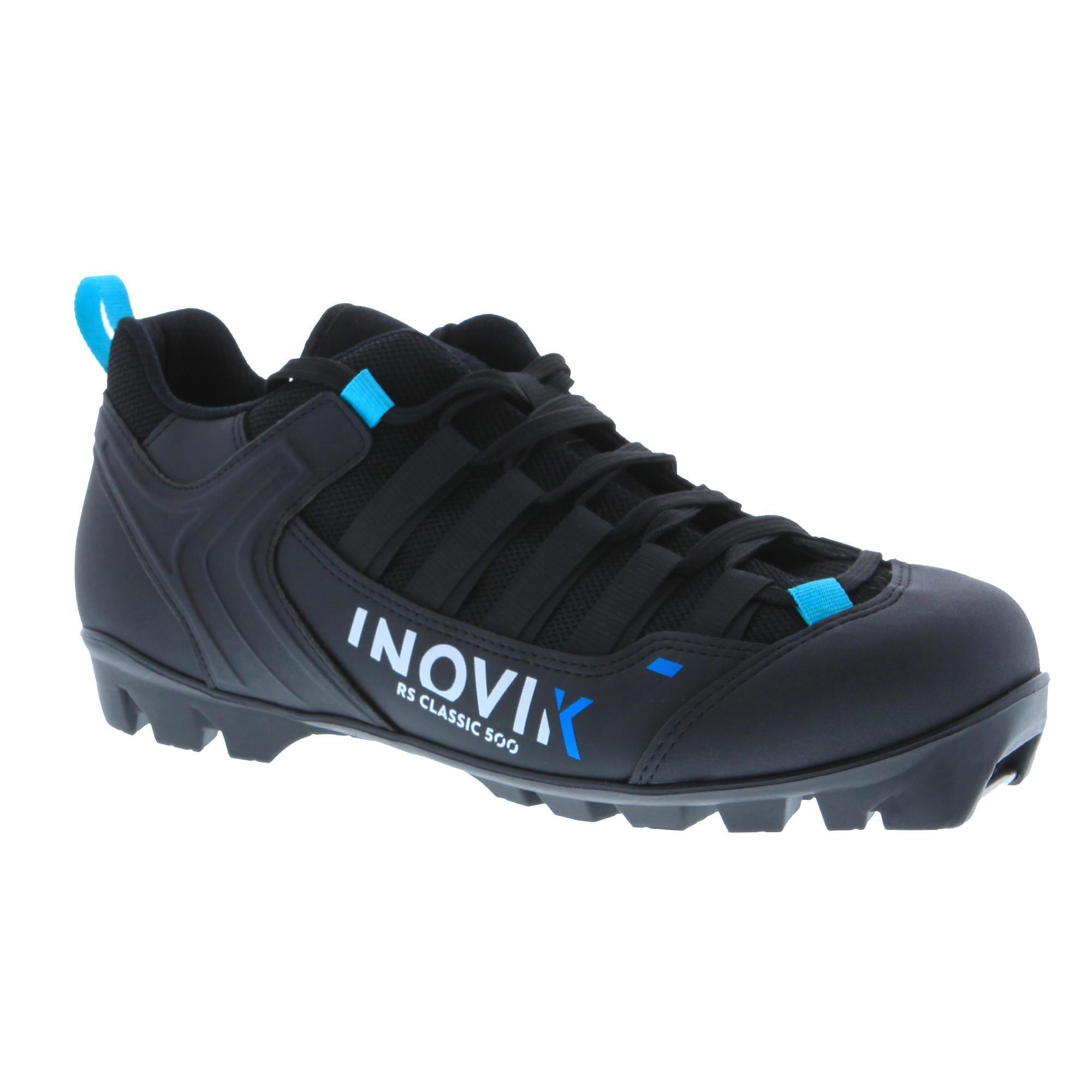Inovik Schoenen voor klassieke rolski's volwassenen XC SR BOOTS CLASSIC 500 zwart